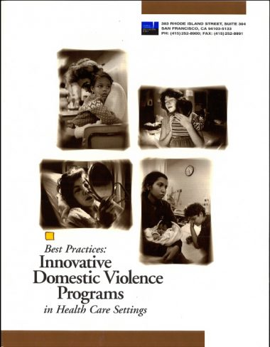 Best Practices for DV Programs 1997 Cover Img