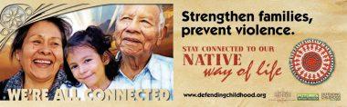 Strengthen Families, Prevent Violence Grandparents and Caregivers Billboard Img