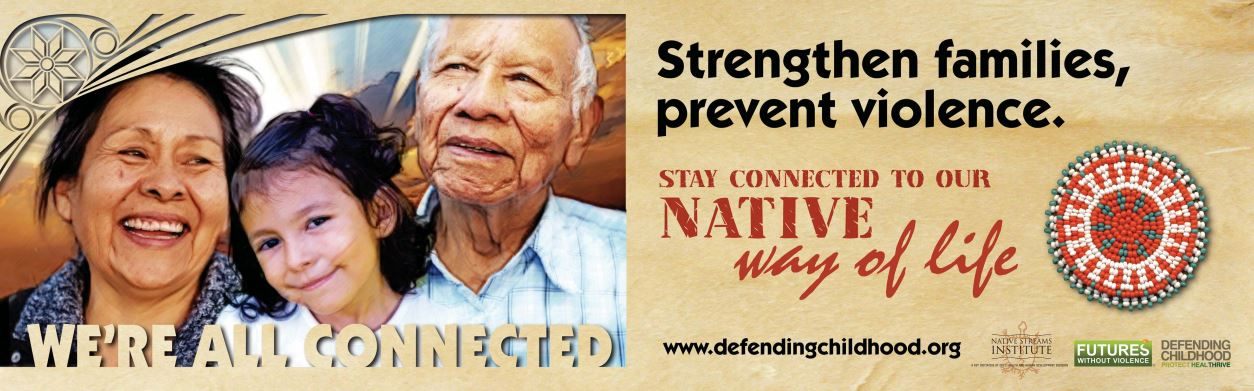 Strengthen Families, Prevent Violence Grandparents and Caregivers Billboard Img