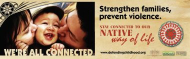 Strengthen Families, Prevent Violence Parents and Caregivers Billboard Img