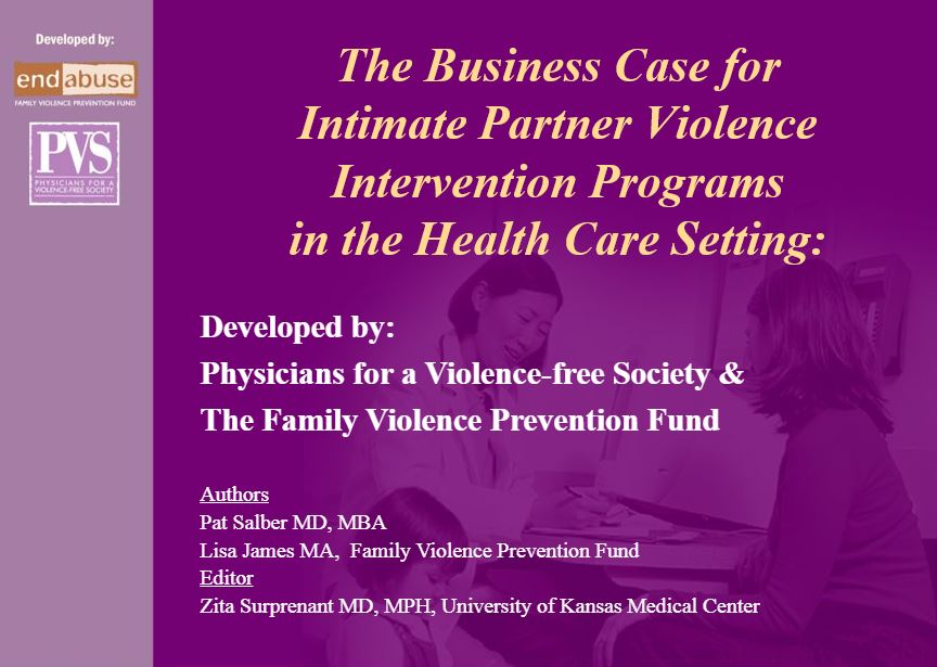 Business Case for DV Pograms in HC Settings Powerpoint Title Slide Img