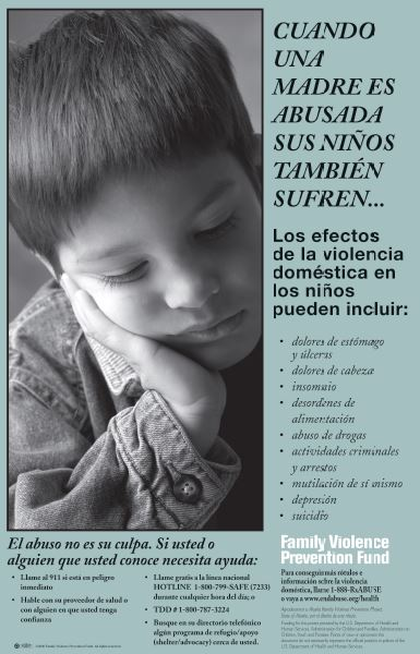 When Mom Gets Abused Spanish Poster