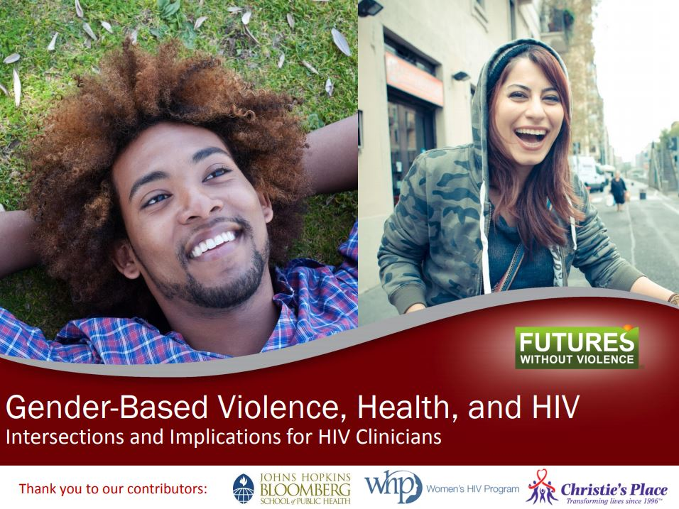 HIV Module Training Slide Cover Img