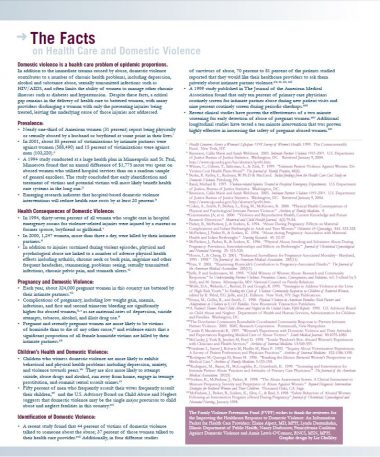 """General Info Folio """"The Facts"""" Img"""
