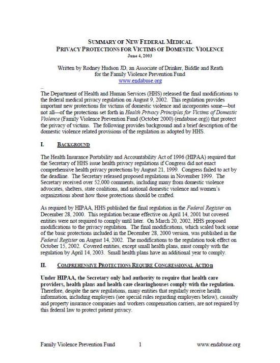 HIPAA Title Page Img