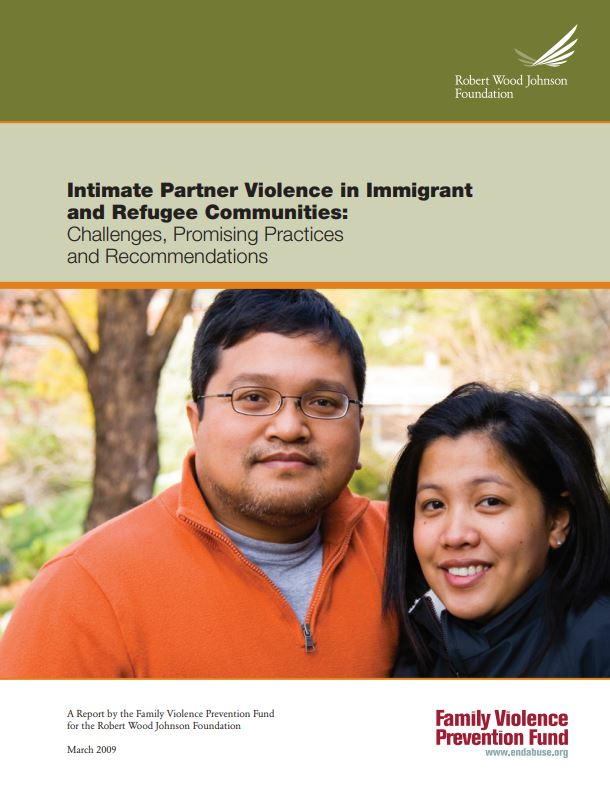 IPV in Immigrant and Refugee Communities Cover Img