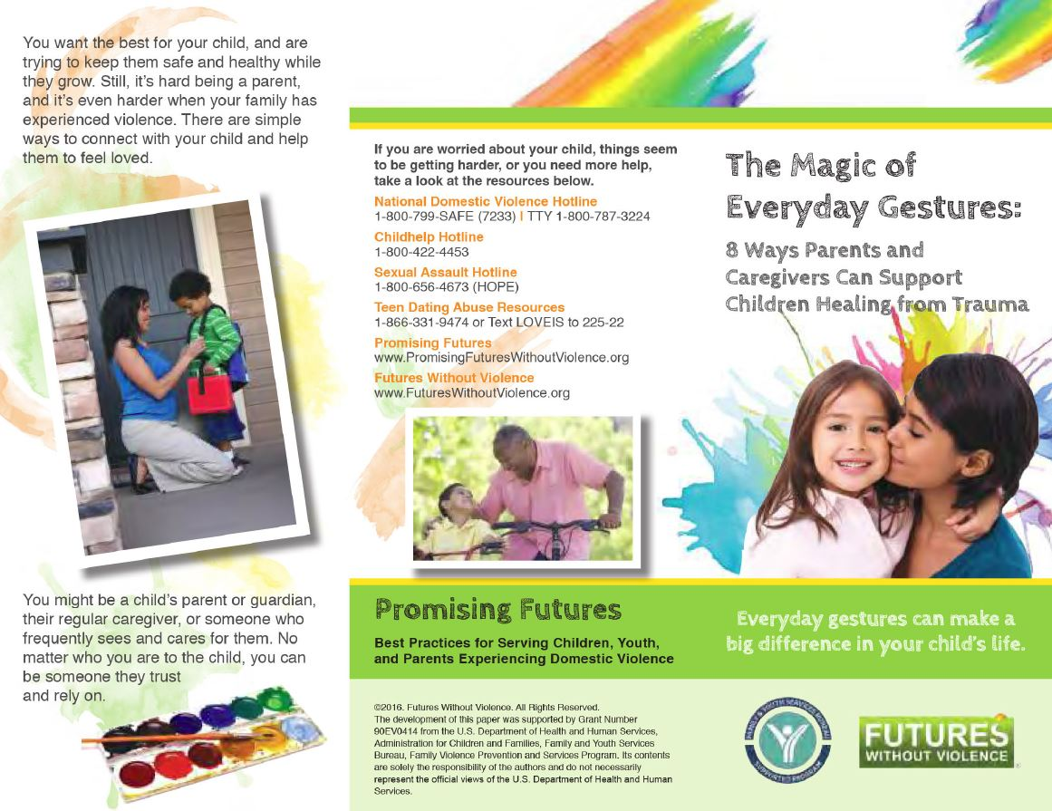 Magic Brochure Front Full Panel Image