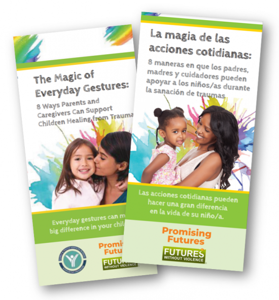Thumbnail image of the Magic of Everyday Gestures Brochure in English and Spanish.