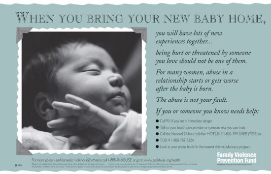 When You Bring Your New Baby Home Poster English Language