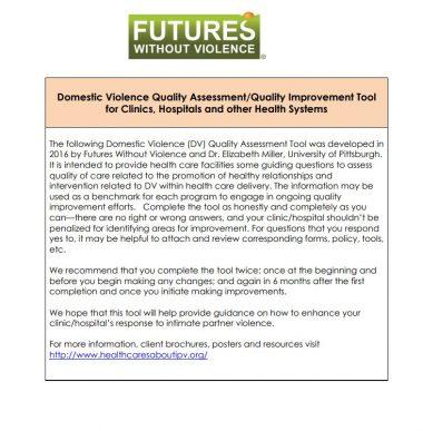 QAQI Tool Health Settings Cover Img