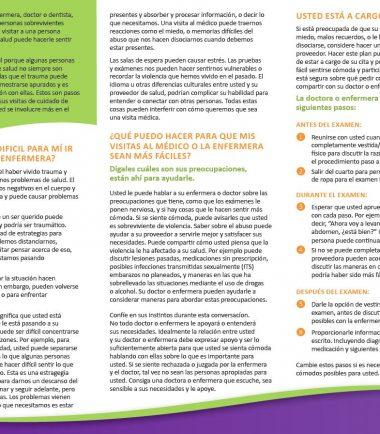 Spanish Survivor Brochure Full Panels Back Img