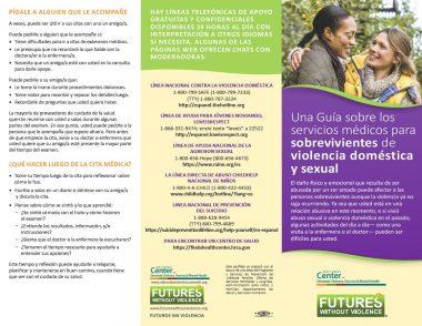 Spanish Survivor Brochure Full Panels Front Img