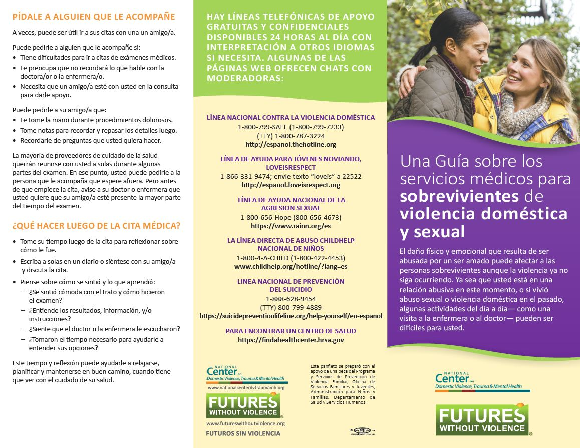 Spanish Survivor Brochure Full Panels Front Img