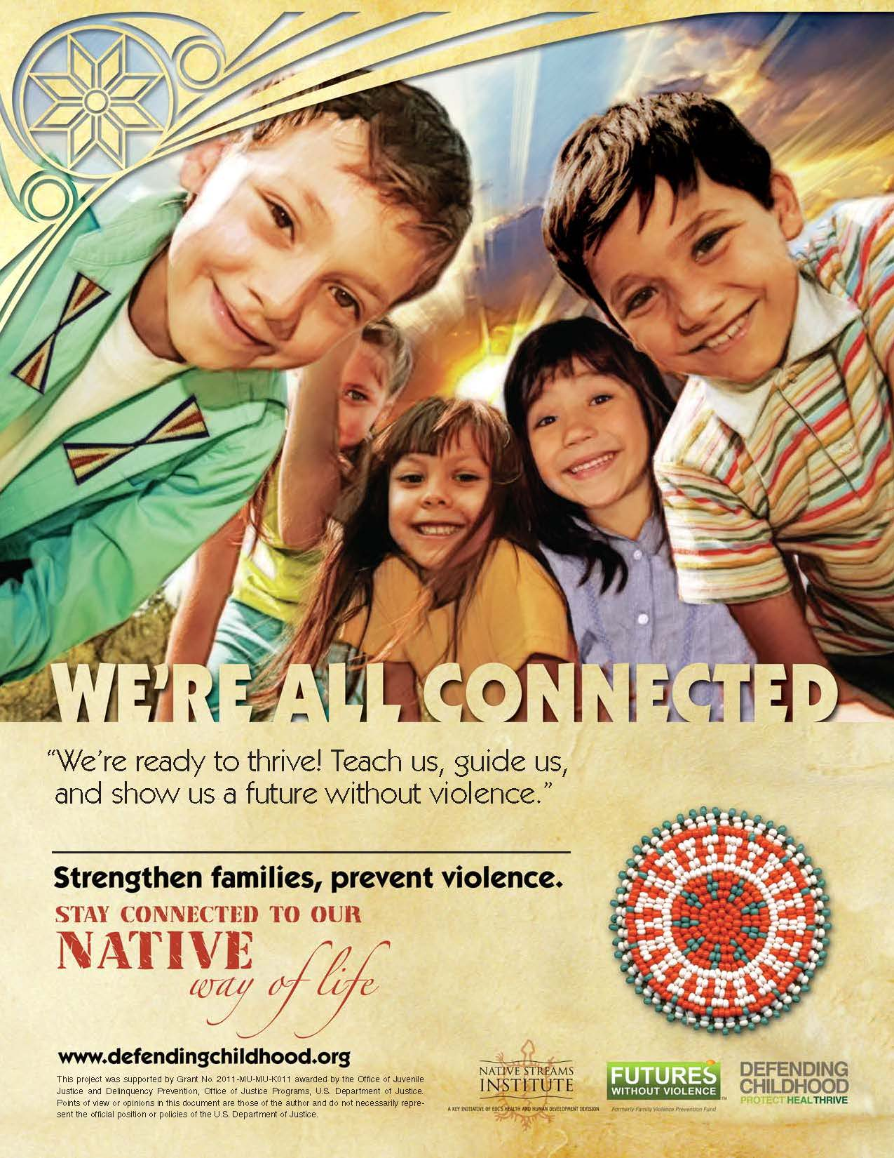 Strengthen Families, Prevent Violence Poster - Community