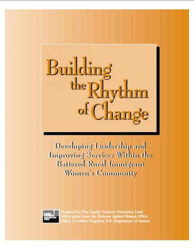 Building the Rhythm of Change Cover Img