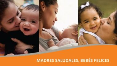 Healthy Moms Happy Babies Safety Card Spanish Title Img